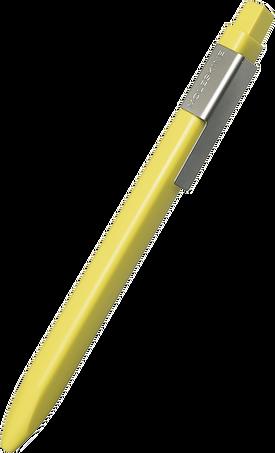 Click Ball Pen CLICK BALLPEN 1.0 HAY YELLOW