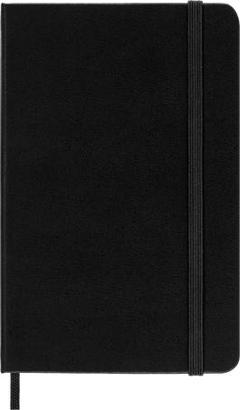 Classic Planner 12M DAILY PK BLK SOFT
