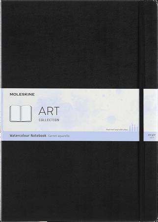 水彩画用 ノートブック ART WATERCOLOUR NTBK A3 BLACK