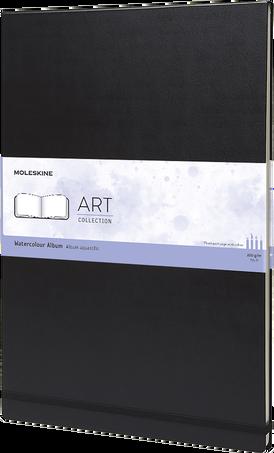 水彩画用 アルバム ART WATERCOLOR ALBUM A3 BLK