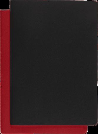 サブジェクト カイエ CAHIER JNLS SUBJECT A4 BLK CRB.RED