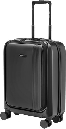 Journey Hard Luggage with External Pocket JOURNEY HARD LUGGAGE w EXT. POCKET BLK