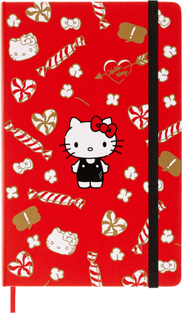Hello Kitty Notebooks LE NB HELLO KITTY LG RUL RED