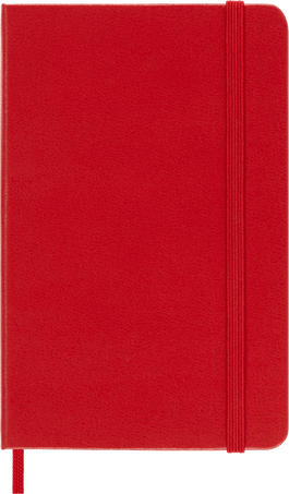 Classic Planner 12M DAILY PK S.RED SOFT