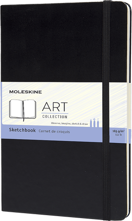 スケッチブック ART SKETCHBOOK LG BLK