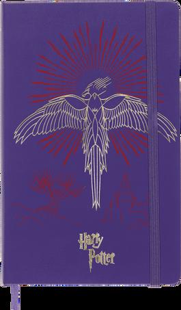 Harry Potter Notebooks LE NB H.POTTER LG RUL BOOK 5 BRIL.VIOLET