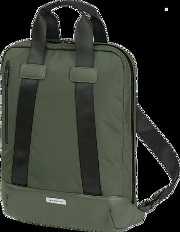バーチカル(縦型)/ ホリゾンタル(横型)デバイス バック - 15インチ METRO DEVICE BAG VERT MOSS GREEN
