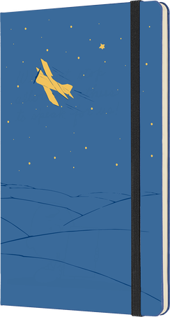 星の王子さま ノートブック LE NB PETIT PRINCE LG RUL FORGET.BLUE