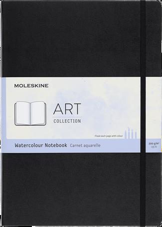水彩画用 ノートブック ART WATERCOLOUR NTBK A4 BLACK