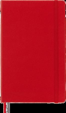 クラシック ノートブック エクスパンデッド NOTEBOOK LG EXPANDED PLA S.RED HARD