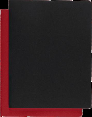 サブジェクト カイエ CAHIER JNLS SUBJECT XXL BLK CRB.RED