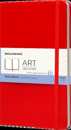 スケッチブック ART SKETCHBOOK LG RED F2